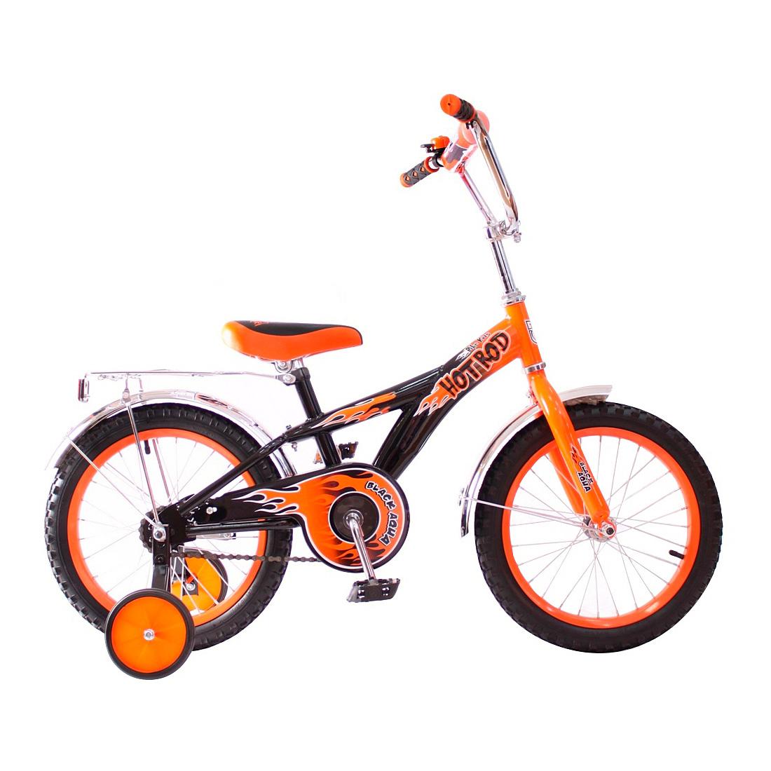 Велосипед двухколесный RT BA Hot-Rod 14 KG1406 Оранжевый<br>