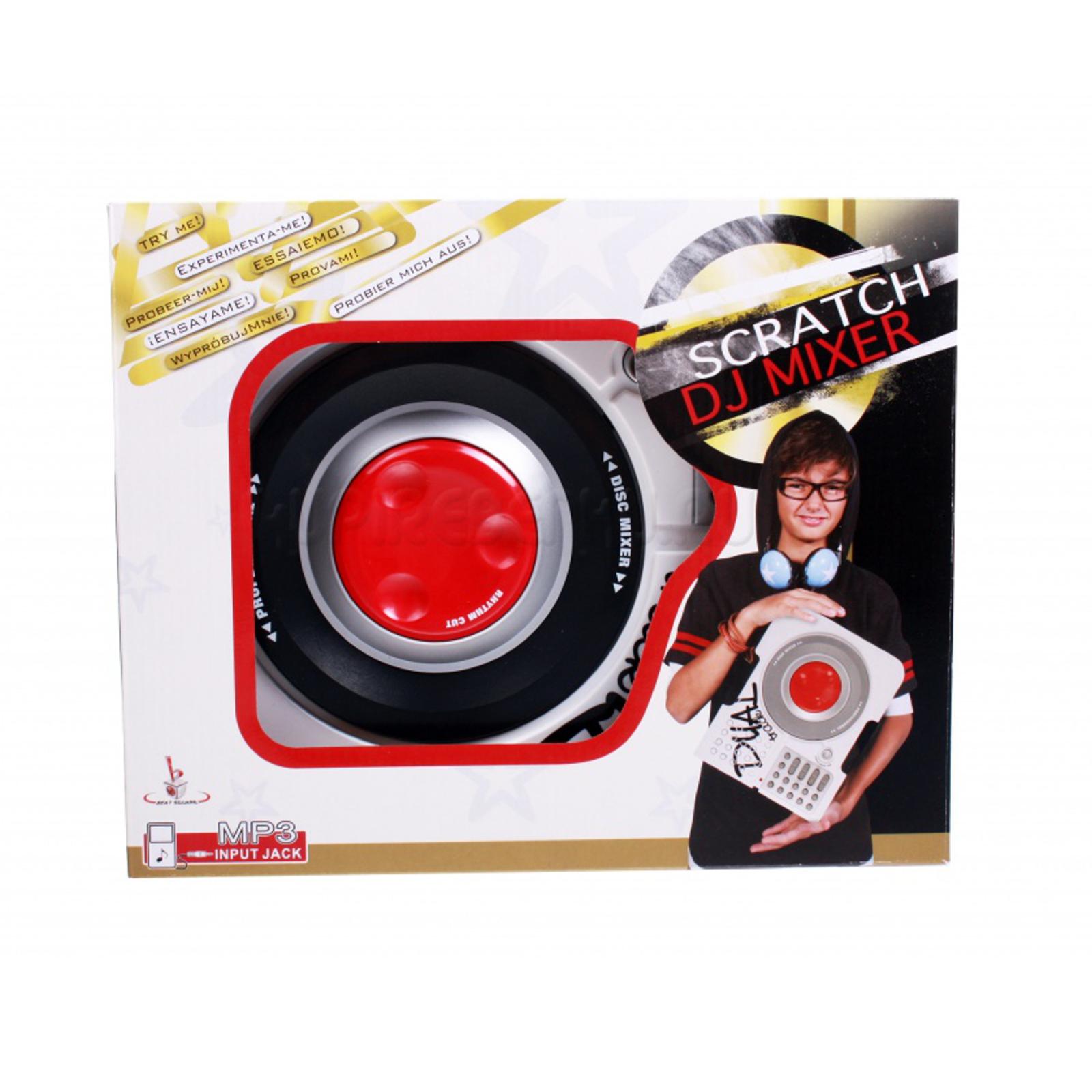 Музыкальный инструмент Potex Скрэтчер DJ Mixer<br>