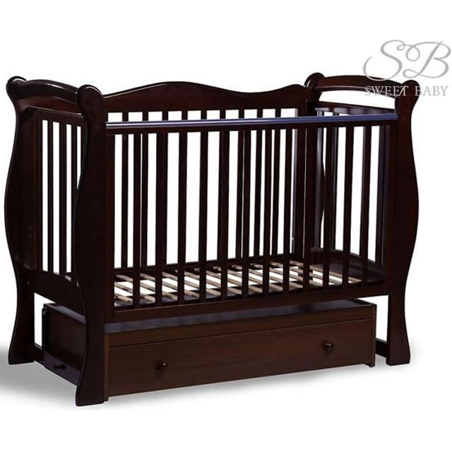 Кроватка Sweet Baby Dolce Vita Cioccolato Шоколад<br>
