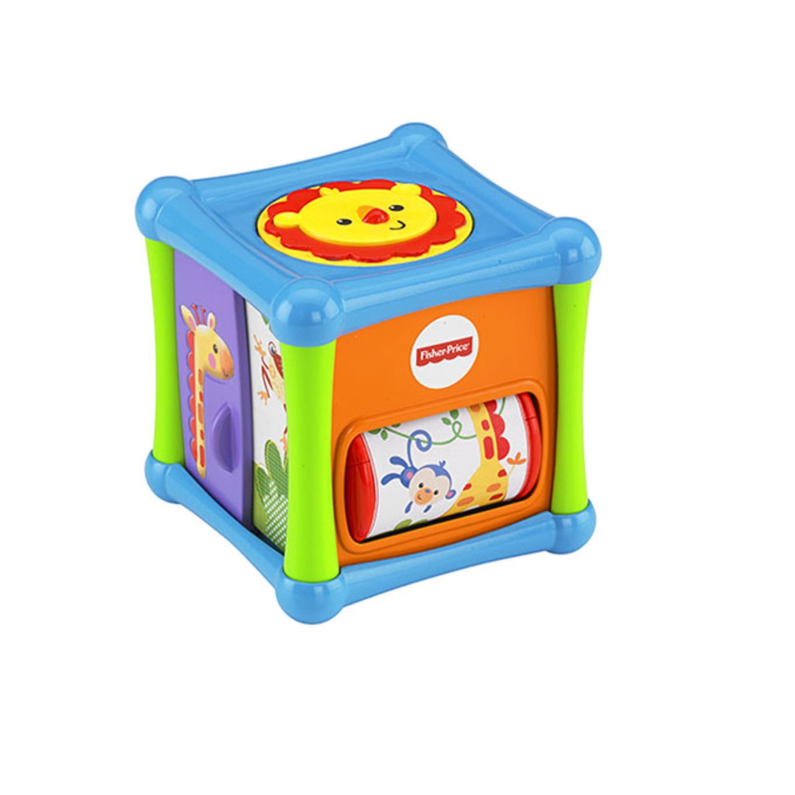 Развивающая игрушка Fisher Price Кубик для игр Веселые животные<br>