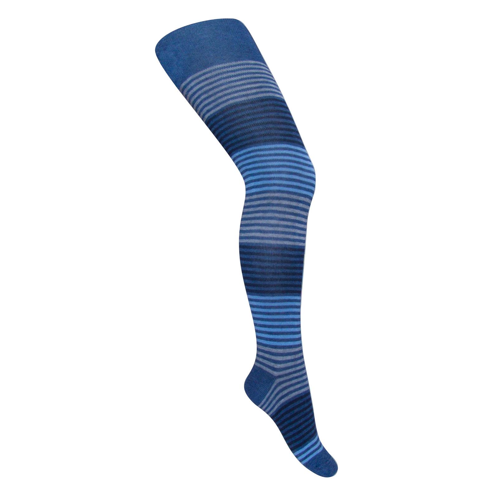 Колготки Para Socks с рисунком K1D9 р 110-116 см джинс меланж<br>