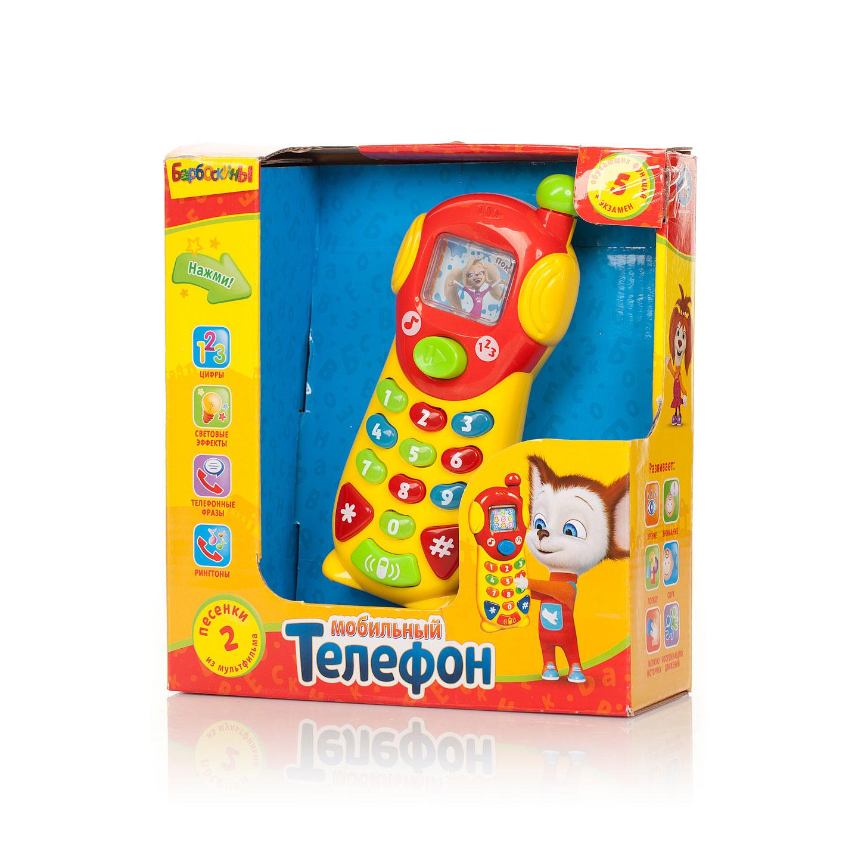 Развивающая игрушка Умка Барбоскины Обучающий телефон (9 функций)