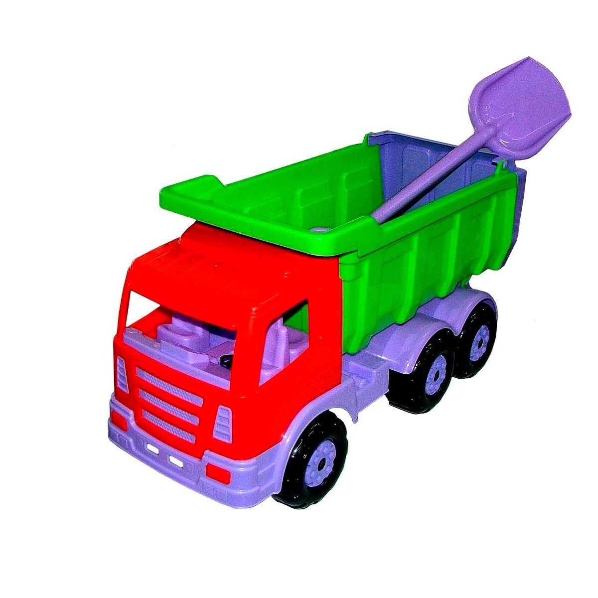 Автомобиль-самосвал Wader Премиум с лопатой большой 9844<br>
