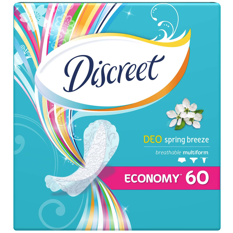 Прокладки гигиенические Discreet ежедневные Deo Spring Breeze Multiform Trio 60шт<br>