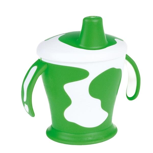 Чашка-непроливайка Canpol Babies С ручками 250 мл (с 9 мес) зеленая<br>