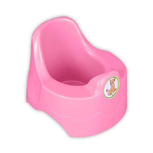 Горшок Радиан с рисунком розовый<br>