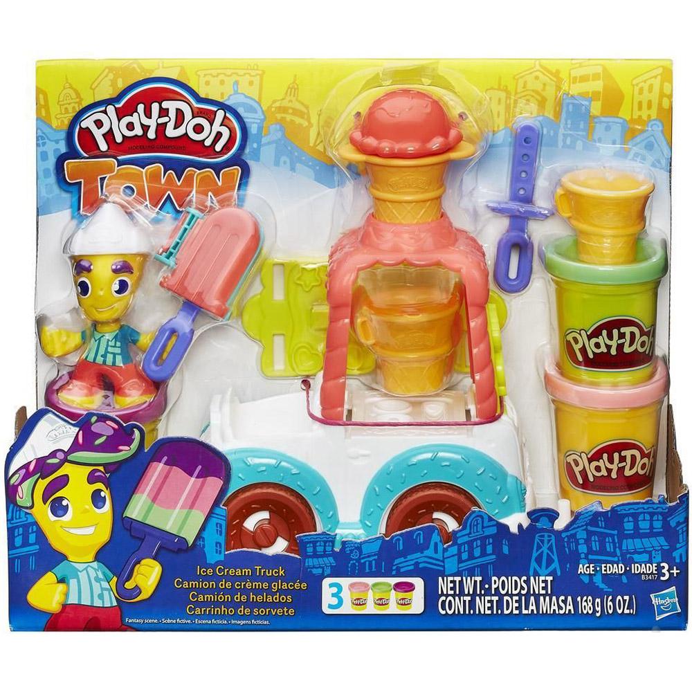 Игровой набор Play-Doh Грузовичок с мороженым<br>