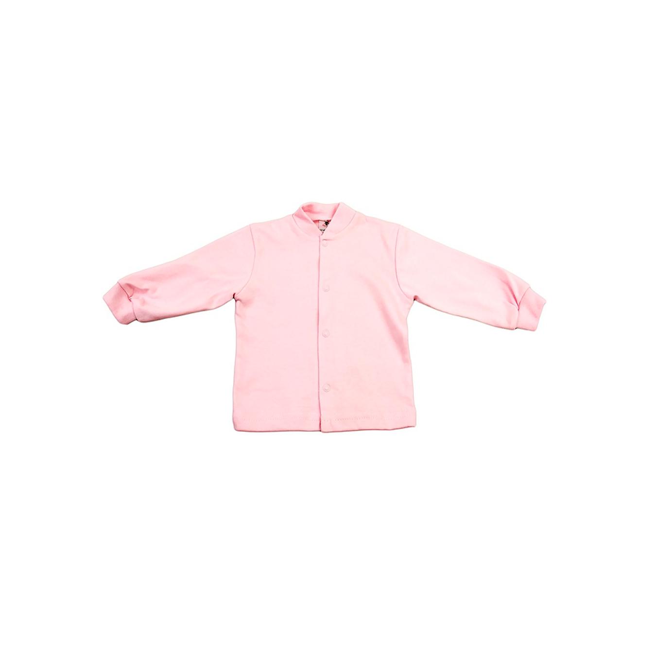Кофточка КОТМАРКОТ для девочки, цвет однотонный розовый 9-12 мес (размер 80)<br>