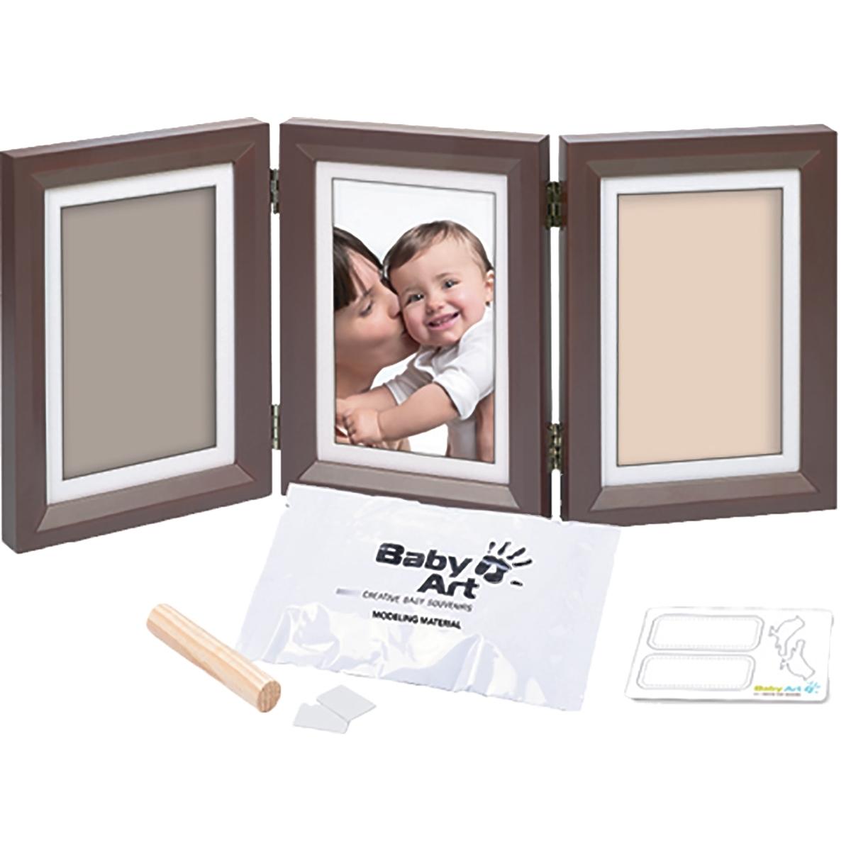 Рамочка Baby Art Double Print Frame (тройная) Шоколад<br>