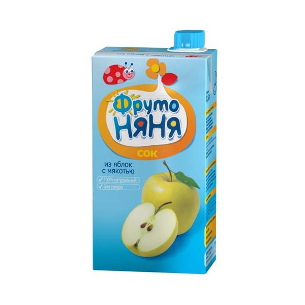 Сок Фрутоняня 500 мл Яблочный (с 4 мес)<br>