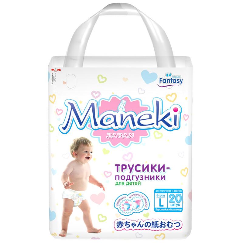 Трусики Maneki Fantasy Mini 9-14 кг (20 шт) Размер L<br>