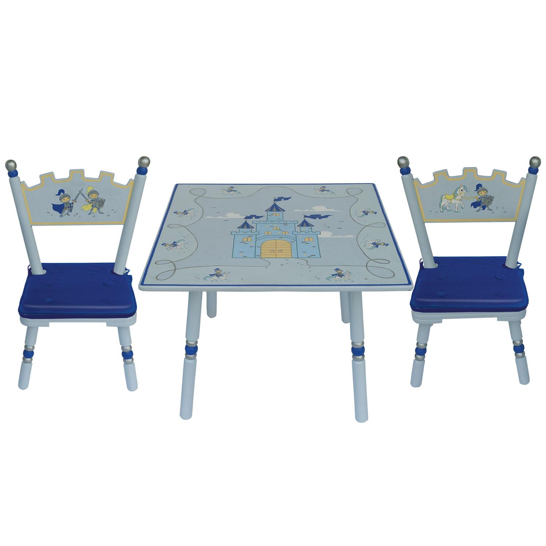 Комплект из стола и двух стульев Major-Kids Knights<br>