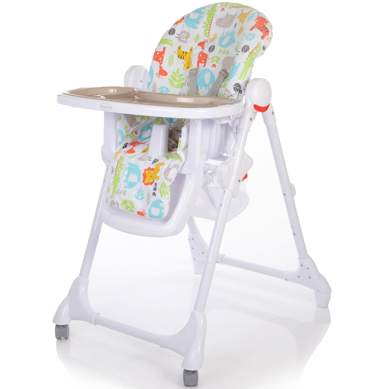 Стульчик Baby Care Fiesta Серый<br>