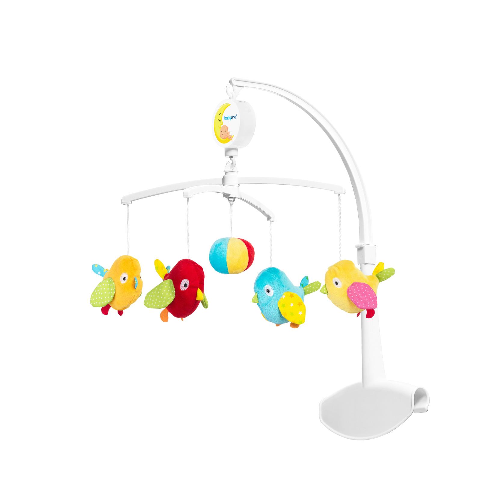 Универсальная карусель с мелодией BabyOno Птички<br>