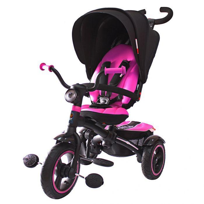 Велосипед-коляска Lexus Trike Icon 5 RT VIP V5 by Natali Prigaro Pink<br>