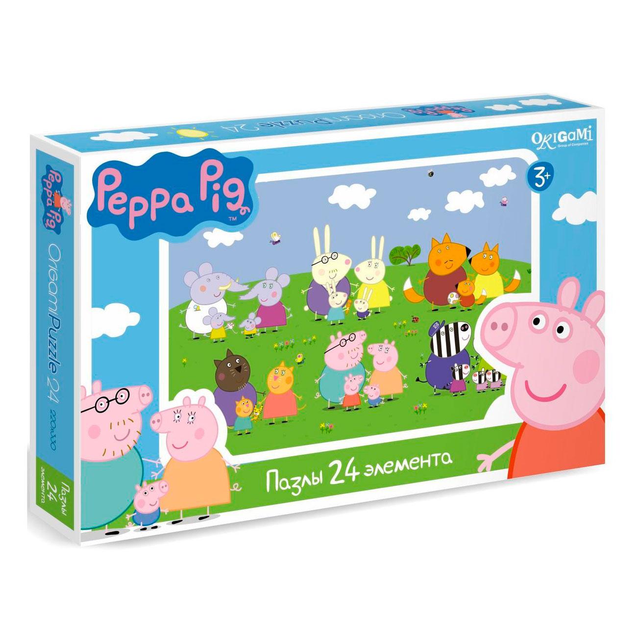 Пазл Origami Peppa Pig 1570<br>