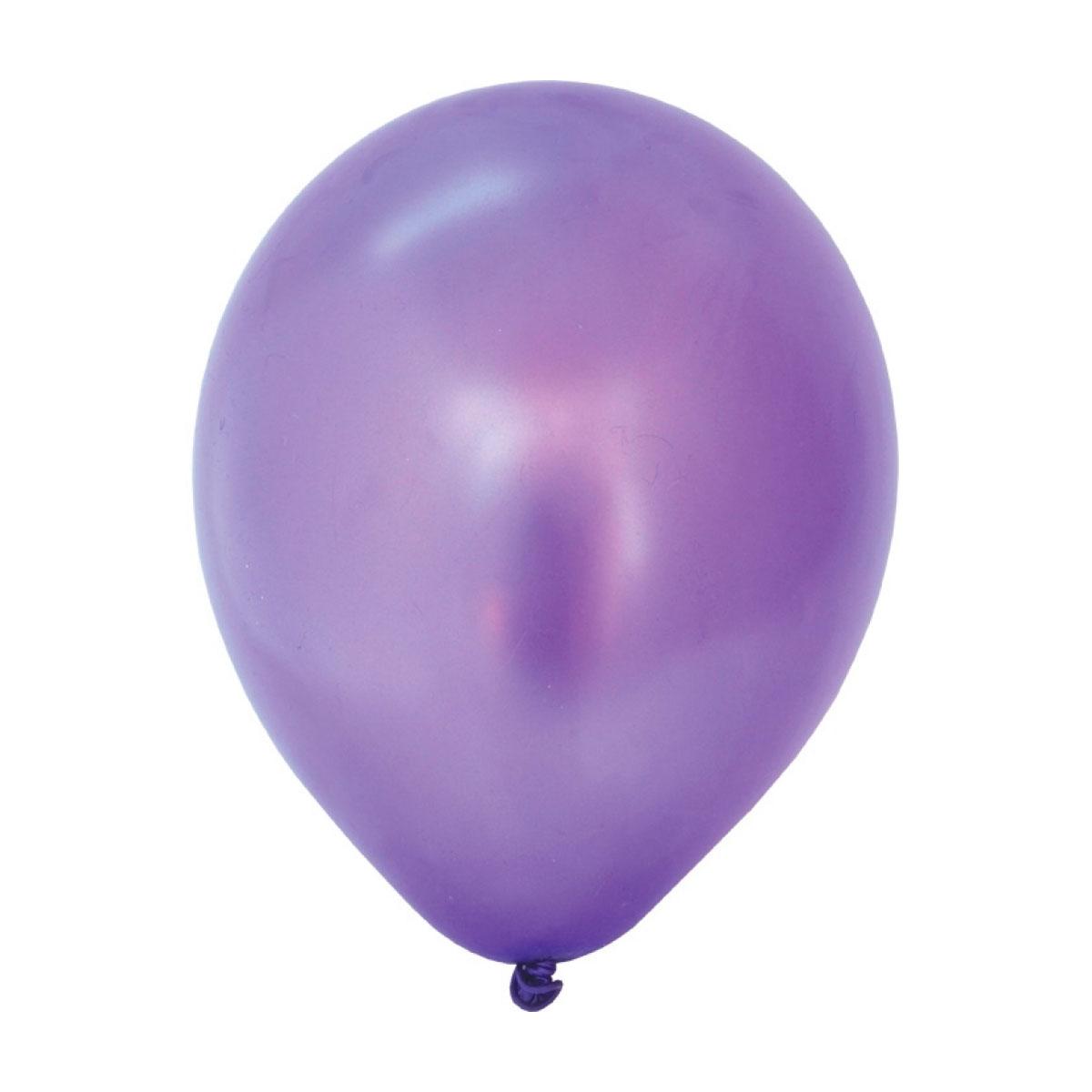 Воздушные шары ACTION! метализированные 30 см. 100 шт.<br>