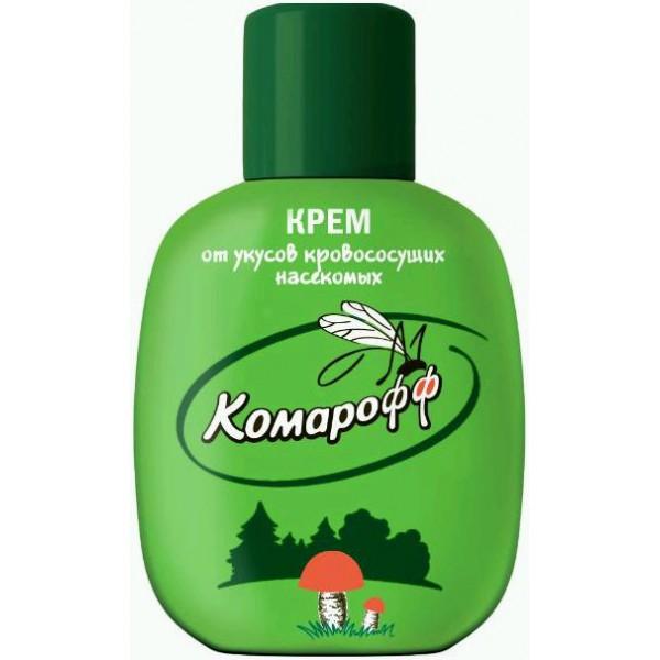 Крем Комарофф от укусов кровососущих насекомых 60 мл (флакон)