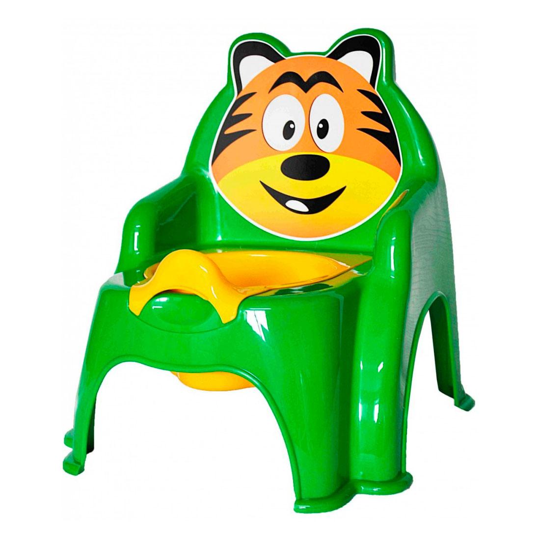 Горшок Doloni Тигра зеленый<br>