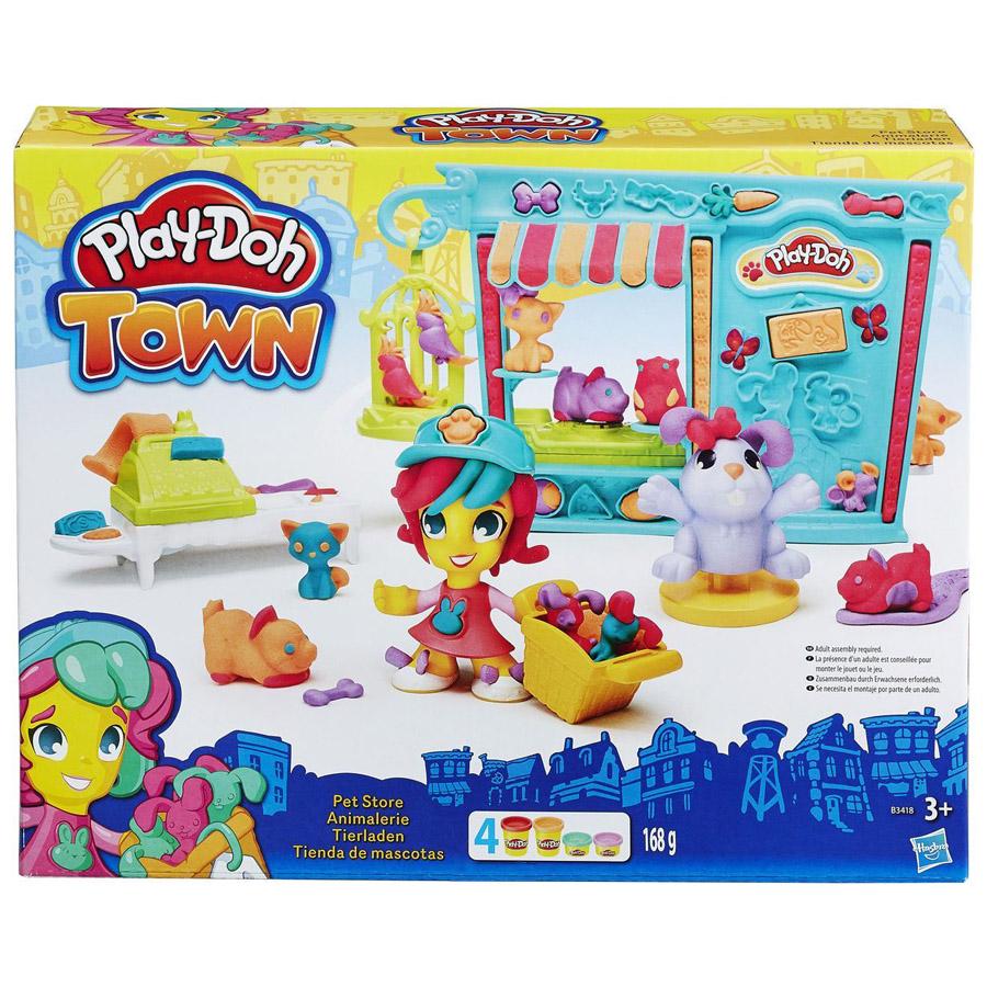 Игровой набор Play-Doh Магазинчик домашних питомцев<br>