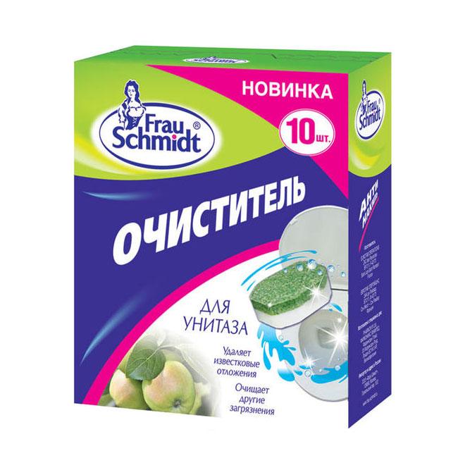 Средство для уборки квартиры Фрау Шмидт 10 шт. Очиститель для унитазов