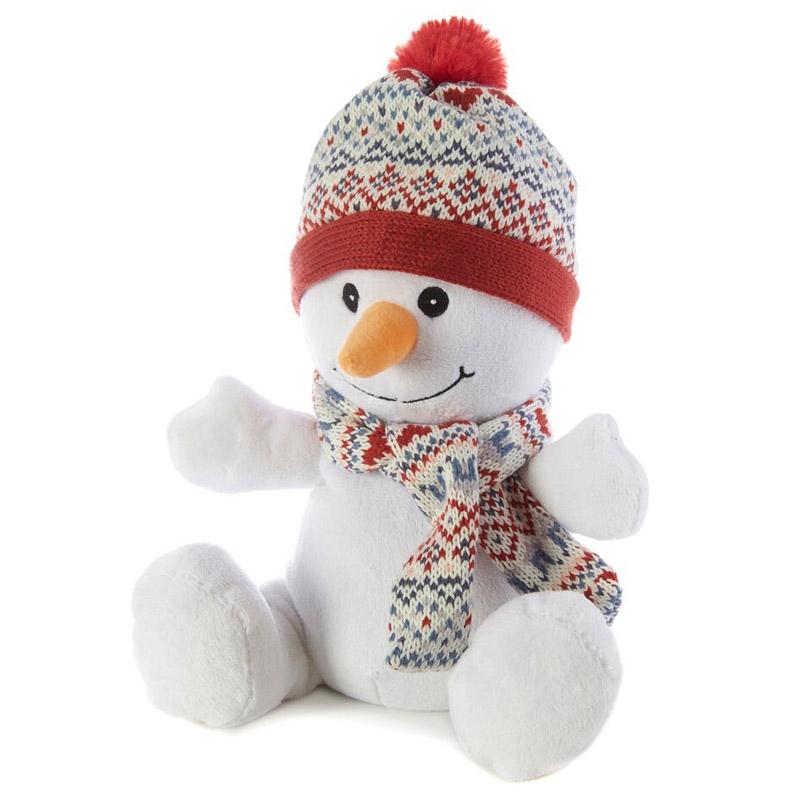 Игрушка-грелка Warmies Снеговик<br>