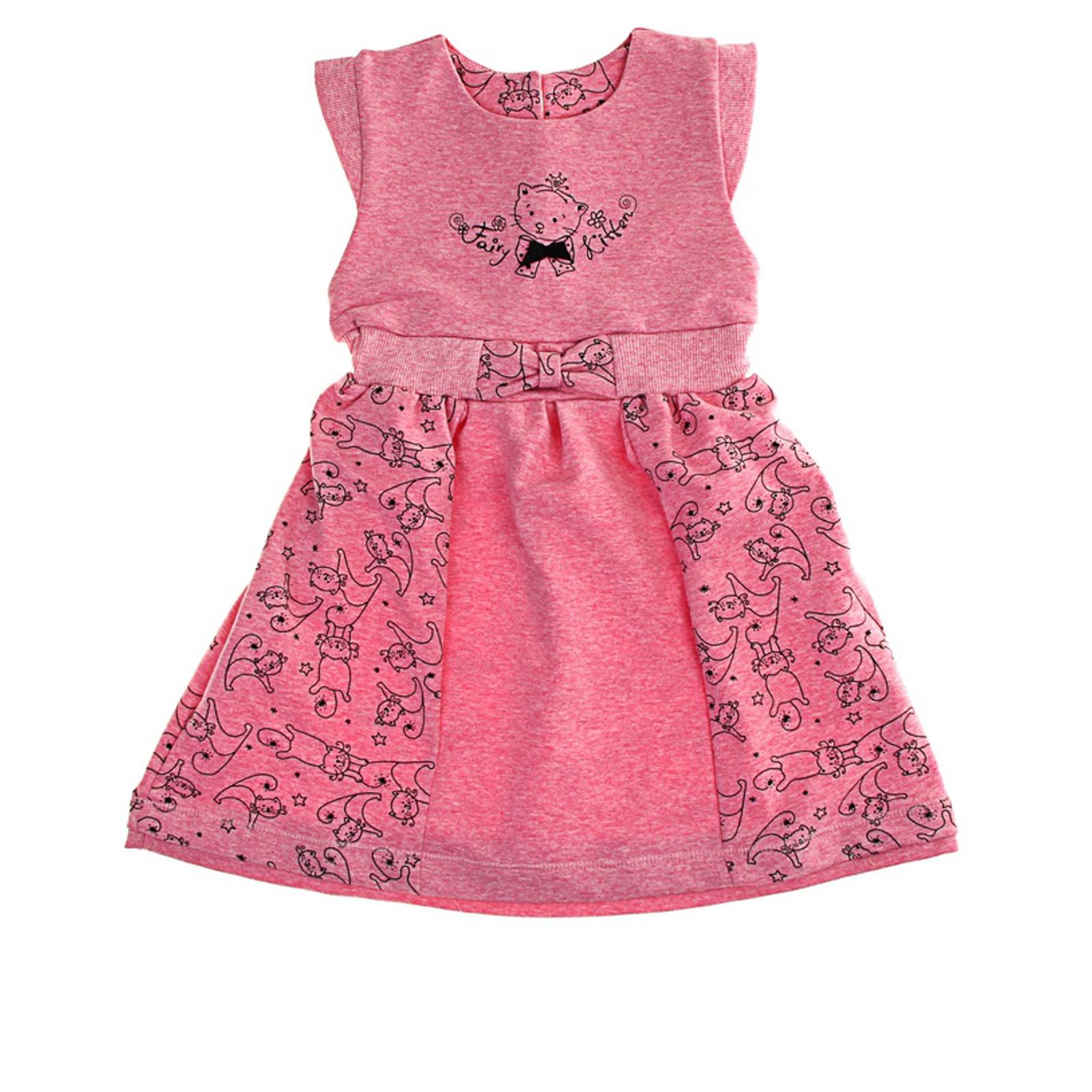 Сарафан Soni Kids Cони Кидс Кошечка Фея, цвет розовый размер 98
