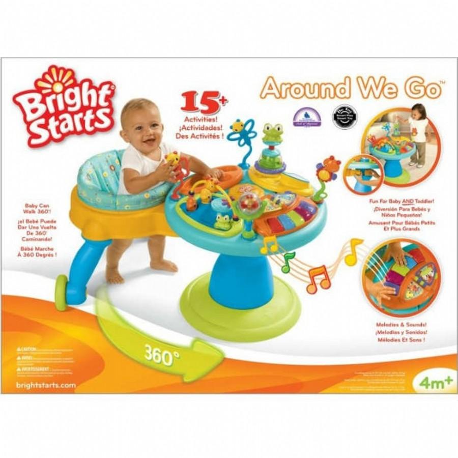 Развивающий игровой центр Bright Starts Зоопарк 360°