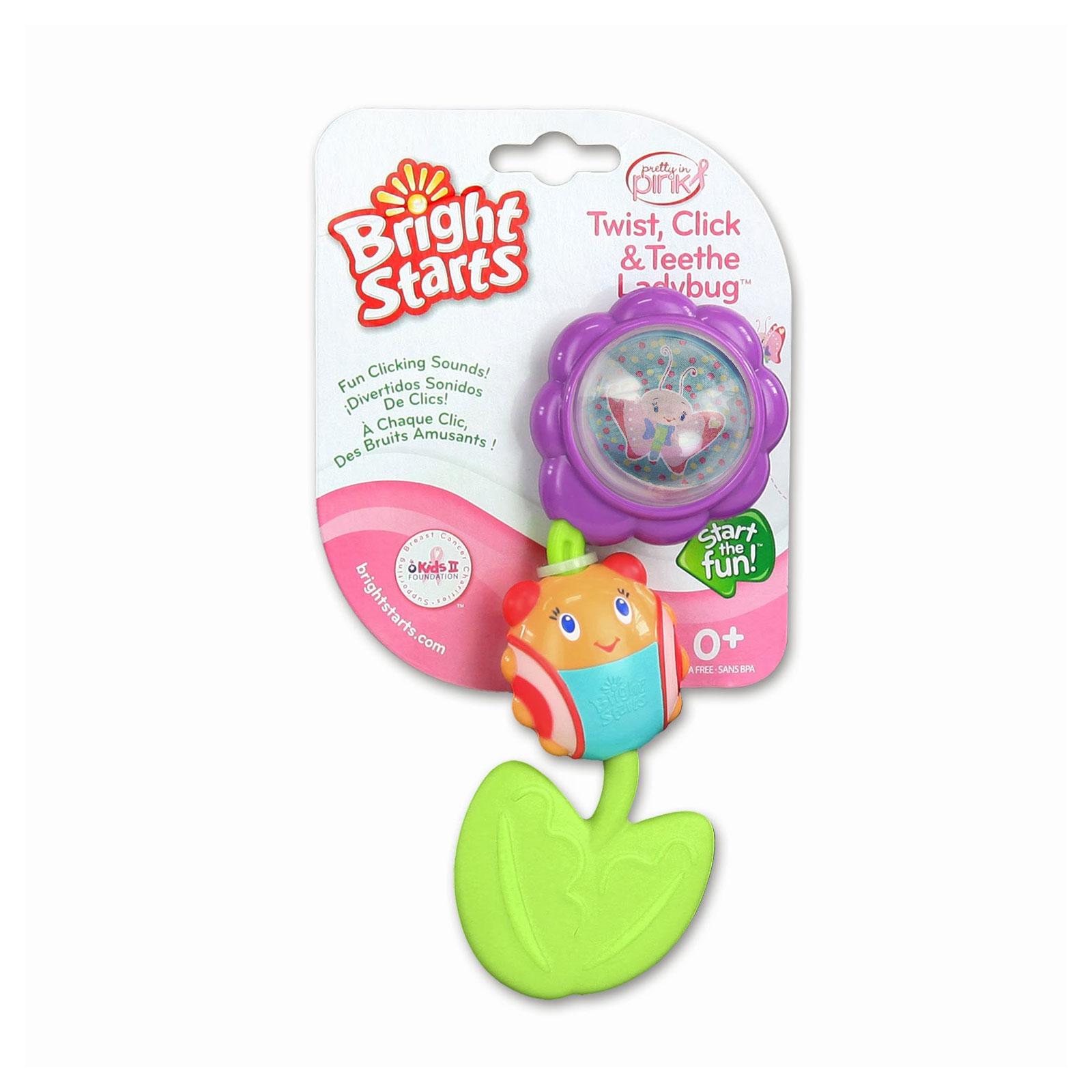 Развивающая игрушка Bright Starts Божья коровка на цветочке с 0 мес.<br>