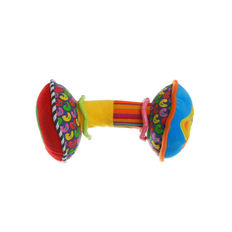Мягкая развивающая игрушка Bondibon Гантели 19 см 2 вида<br>