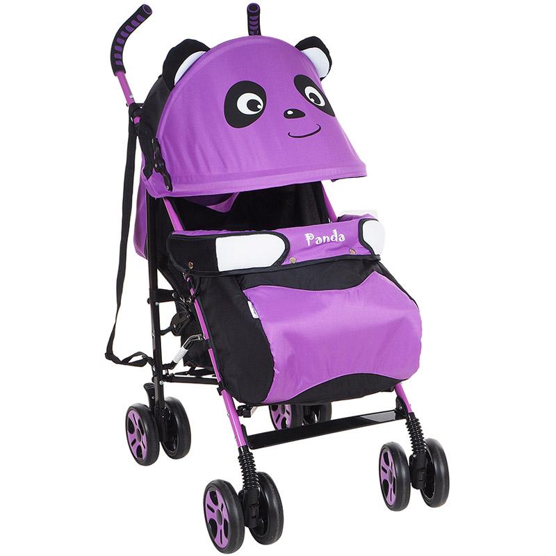 Коляска трость Bambola Panda Фиолетовый<br>