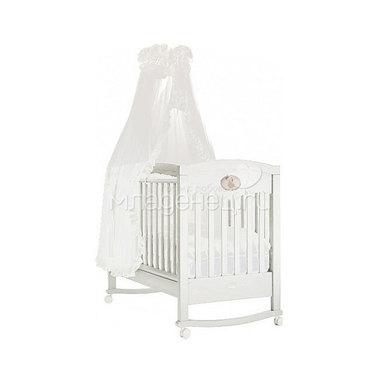 Кроватка Feretti Enchant Dondolo качалка Bianco/White