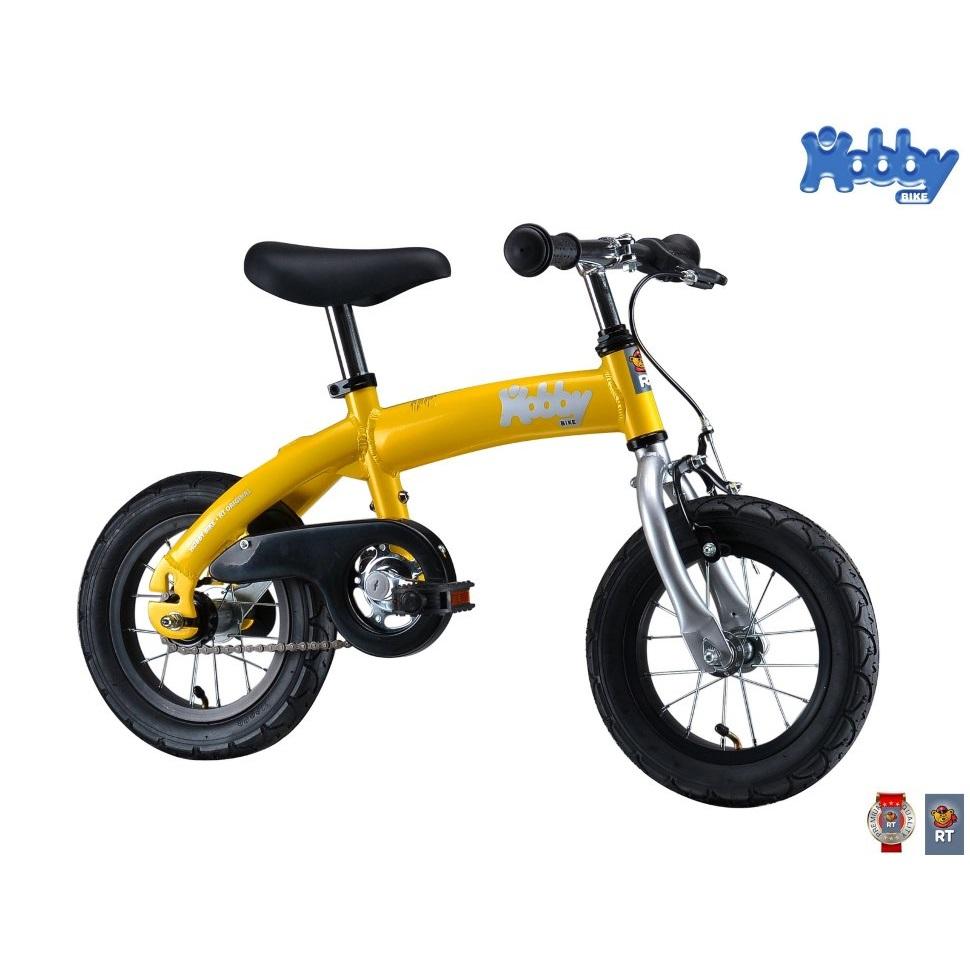 ������������-��������� Hobby-bike ALU NEW 2016 Yellow