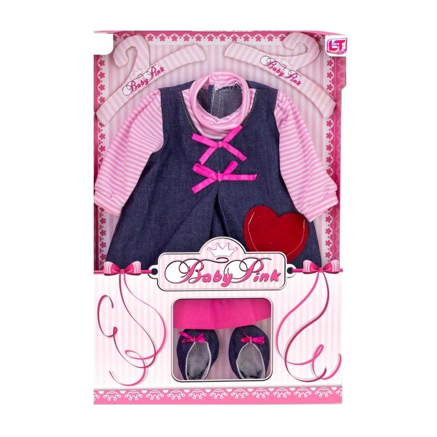 Одежда для кукол LOKO TOYS Baby Pink одежда для куклы девочки<br>