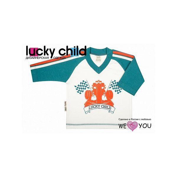 Кофточка Lucky Child Формула-1 рост 86<br>