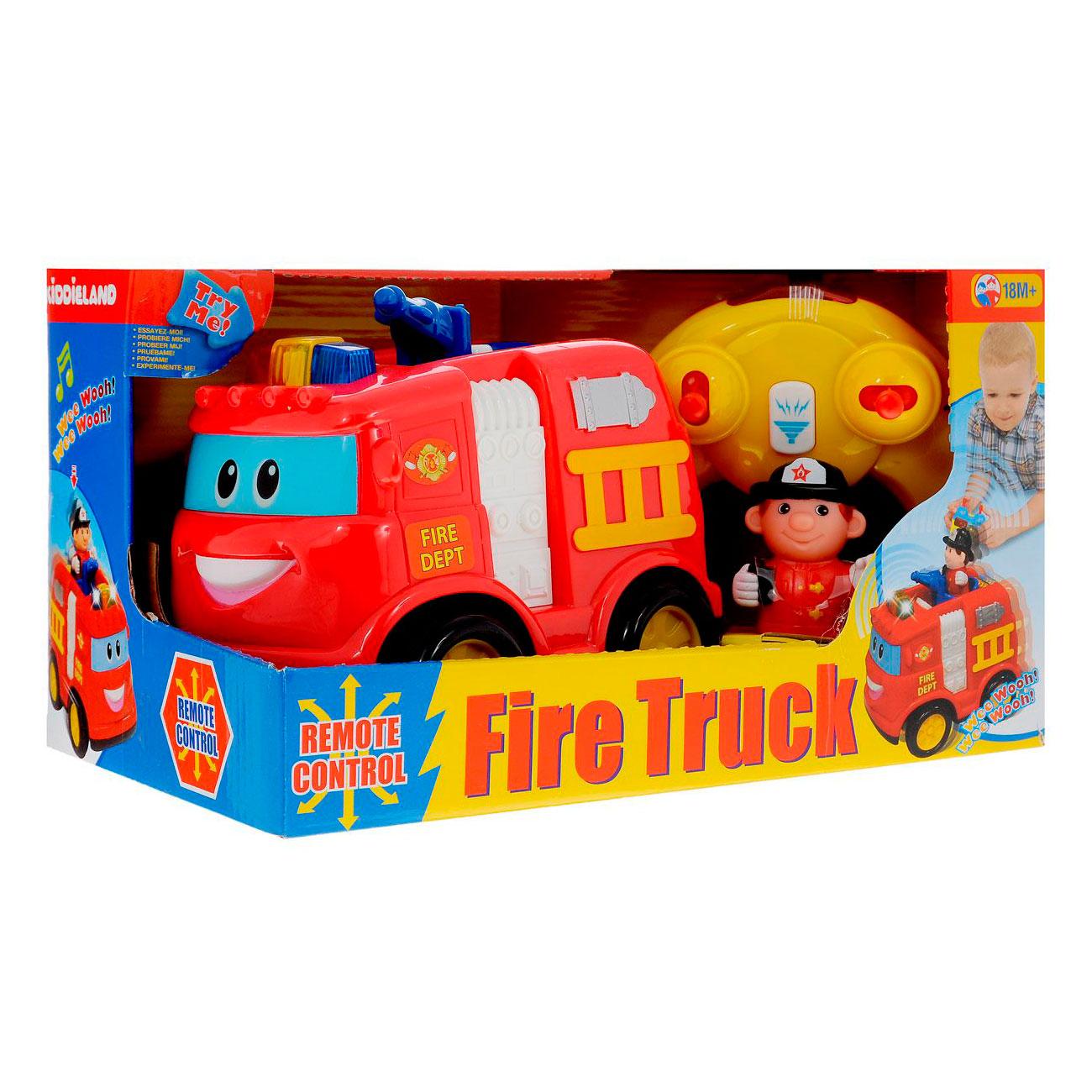 Развивающая игрушка Kiddieland Пожарная машина на радио управлении<br>