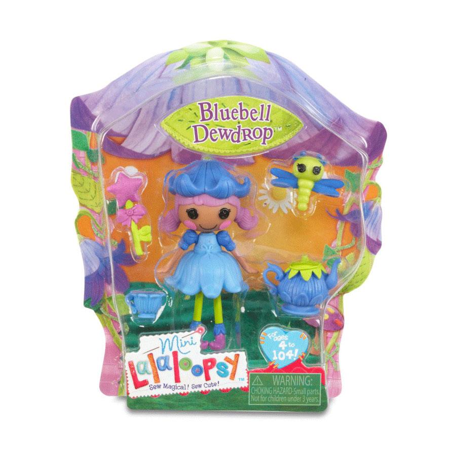 Кукла Mini Lalaloopsy с аксессуарами Bluebell Dewdrop