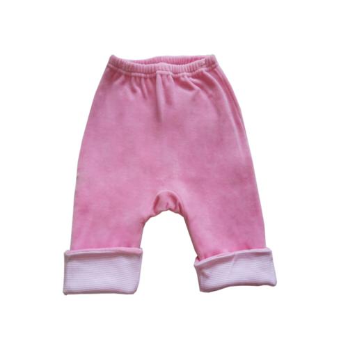 """Штанишки утепленные Soni Kids """"Веселые полосатики"""", цвет розовый 6-9 мес."""