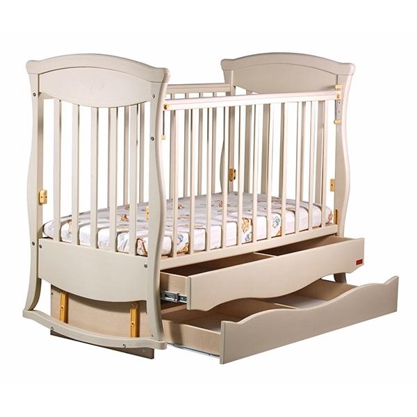 Кроватка Наполеон Грация Ваниль<br>