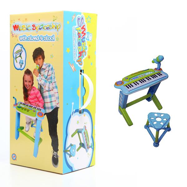 Музыкальный инструмент Potex С микрофоном и стулом<br>