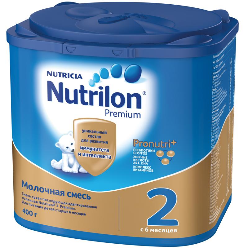Заменитель Nutricia Nutrilon Premium 400 гр №2 (с 6 мес)<br>