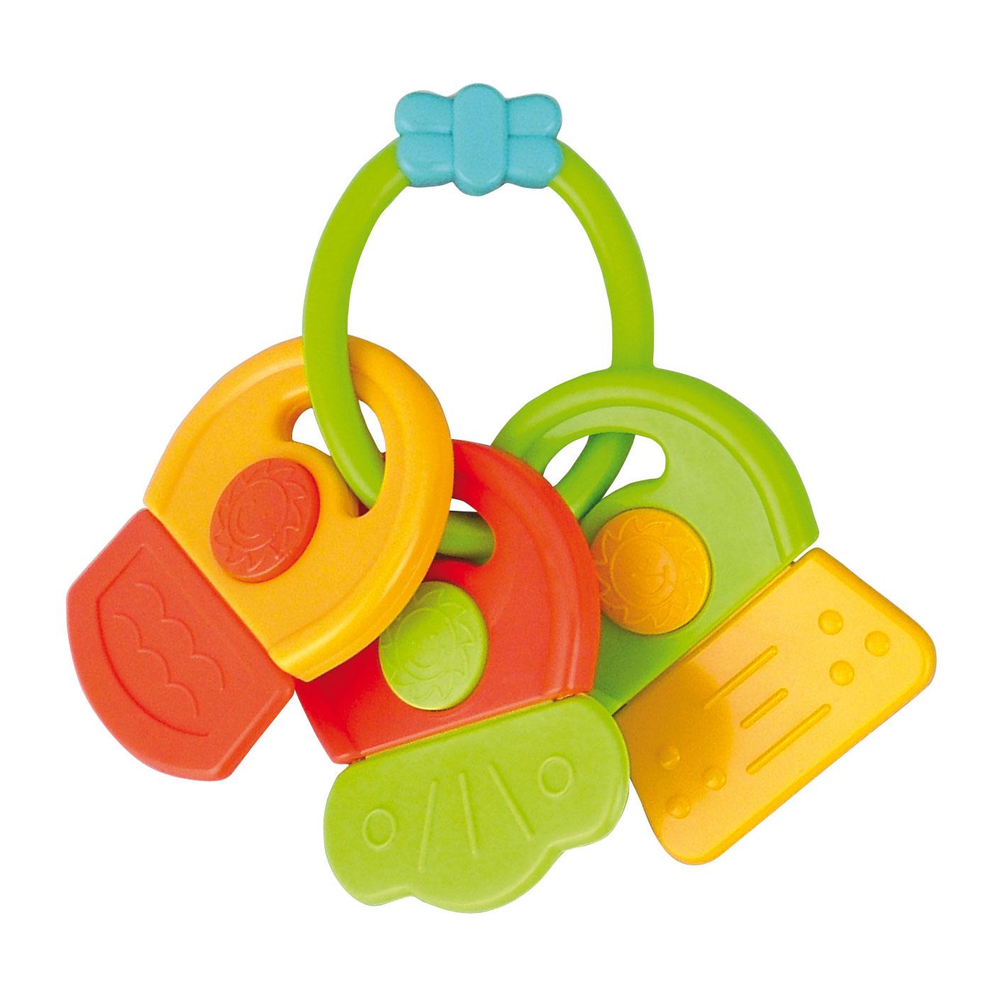 Погремушка-прорезыватель Canpol Babies Ключи Символы Зеленый<br>
