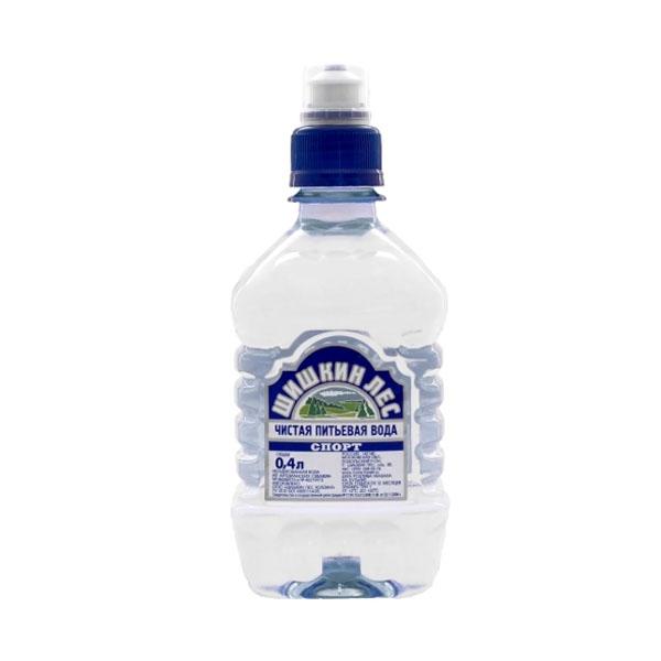 Вода питьевая Шишкин лес негазированная 0,4 л. Спорт