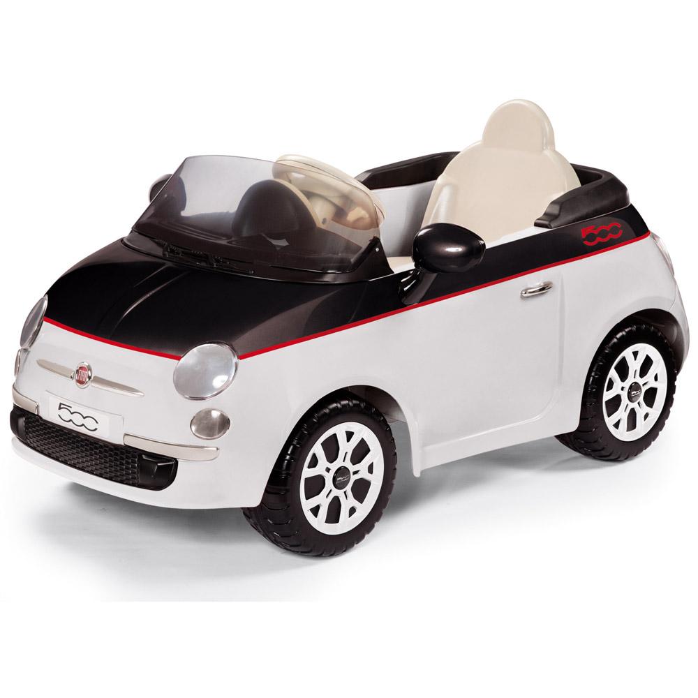 Электромобиль Peg-Perego FIAT 500 Белый<br>