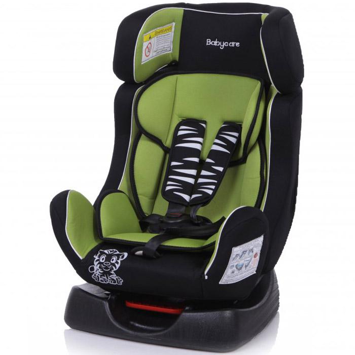 Детское автомобильное кресло Baby Care BC-719 Люкс Тигрёнок Зеленое