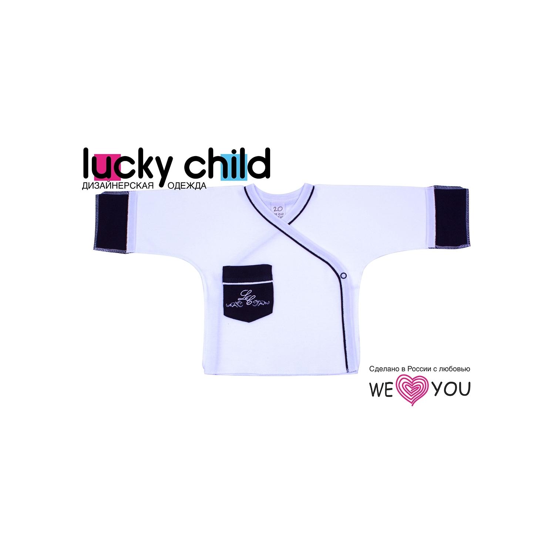 Распашонка Lucky Child Классик молочный рост 62<br>
