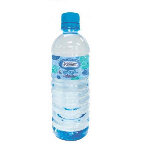 Вода детская Бабушкино лукошко 0.5 л<br>