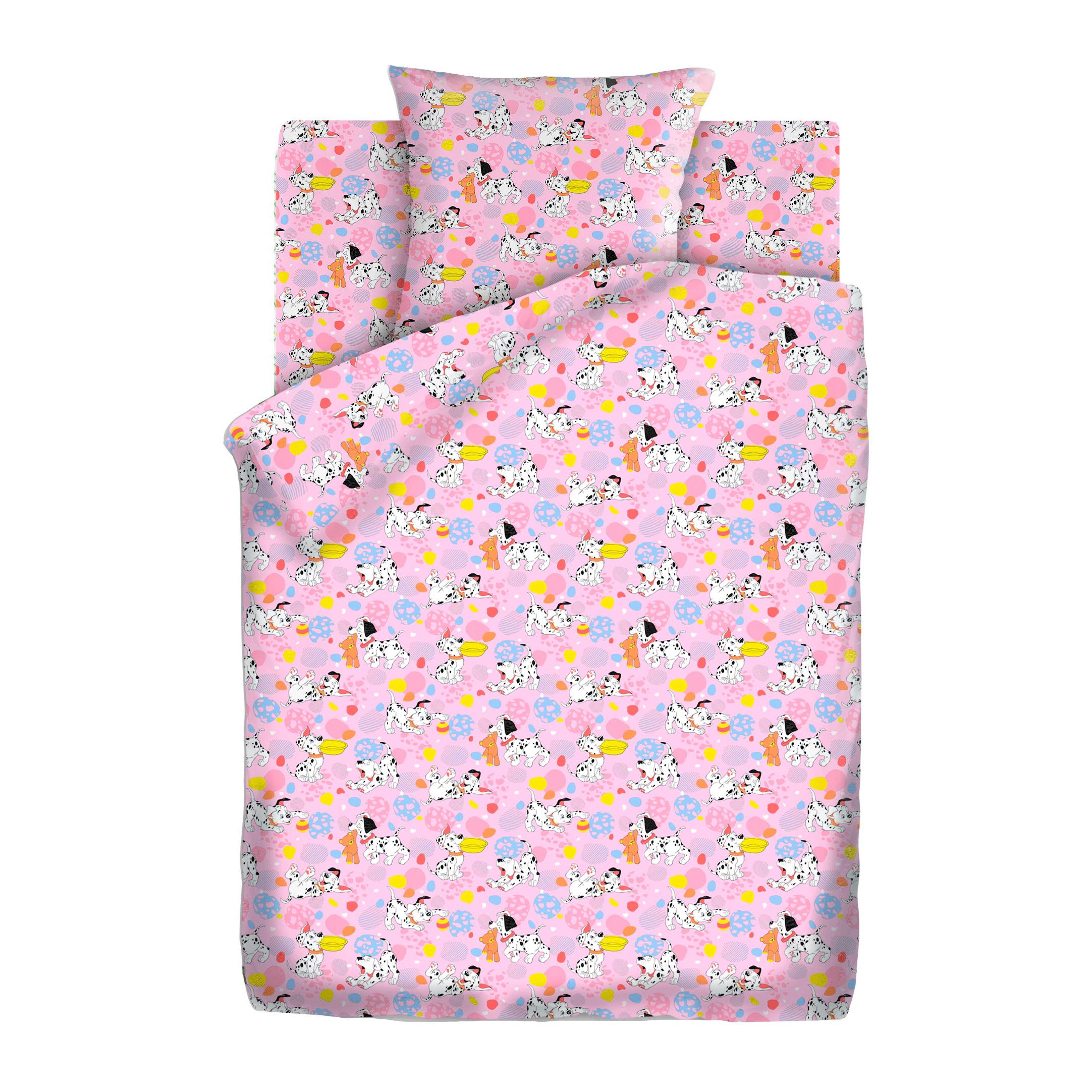Комплект постельного белья детский бязь Непоседа Кошки-мышки КДКм-1 Далматинцы<br>
