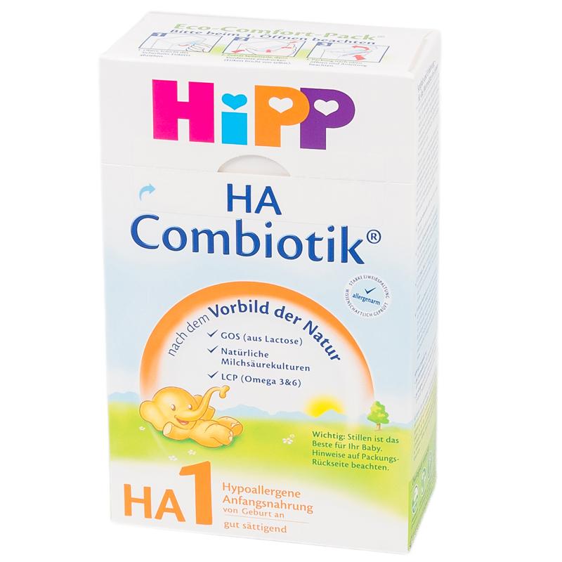 Заменитель Hipp HA Combiotic  500 гр №1 (с 0 мес)
