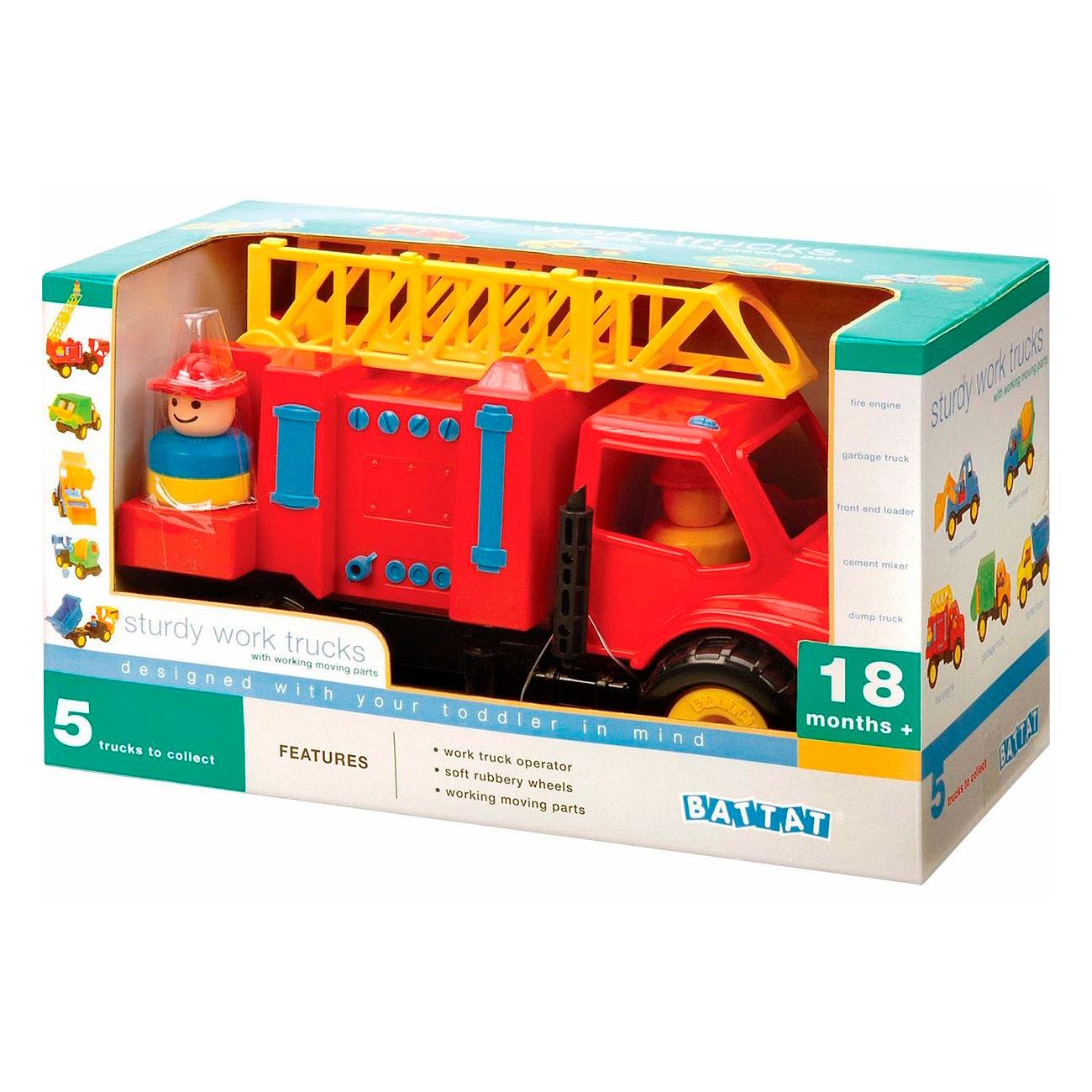 Игрушка Battat Пожарная машина от 18 месяцев<br>